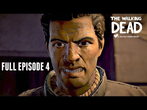 The Walking Dead A New Frontier Walkthrough FULL EPISODE 4 - THICKER THAN WATER (PS4 Pro Gameplay)