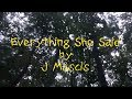 Everything She Said [LYRIC VIDEO]