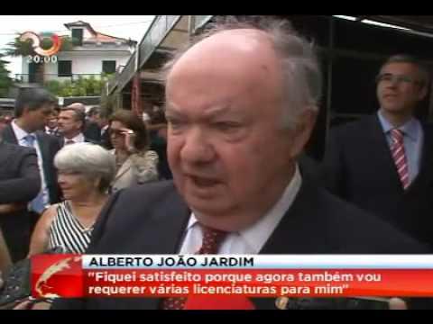 Alberto João Jardim Goza com o Caso Relvas