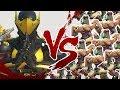 1 GENJI VS 30 BASTIONS ARMEE! DER BESTE GAME MODUS IN OVERWATCH Deutsch