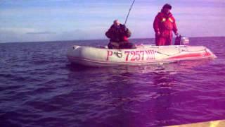 Морская рыбалка. Остров Кильдин март 2012-4