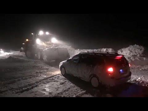 Σφοδρός χιονιάς στην ρωσική Άπω Ανατολή