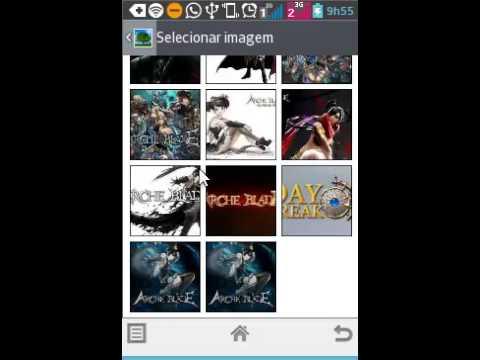 Imagens de papel de parede - como colocar uma apresentação de slide de papel de parede em smartpho ou tablet android