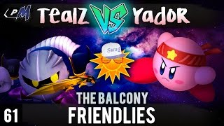Kirby/Metaknight Mains: Roughly an hour of after tourney footage of YadoR VS Tealz Friendlies :)