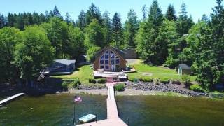 New waterfront listing at Lake Nahwatzel in Shelton, WA