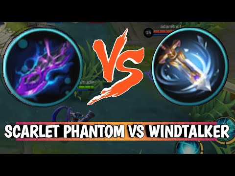 SCARLET PHAMTOM VS WINDTALKER MOBILE LEGENDS