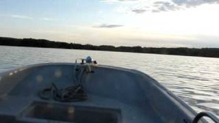 A video of me driving a 1976 11' Boston Whaler on Walloon Lake, Michigan. Ex- Coast Guard owned vessel.