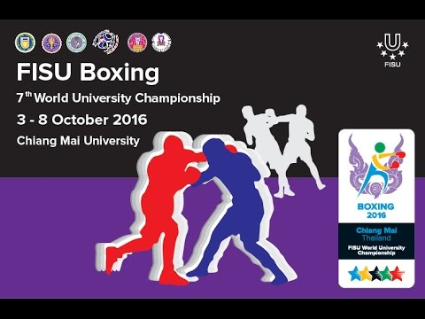 Opening Ceremony of The 7th World University Boxing Championship 2016