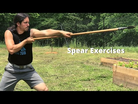 Spear (Sibat) Exercises - Kali Escrima Arnis