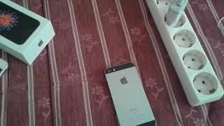 Iphone 5 se kutu açilimi ve incelemesi
