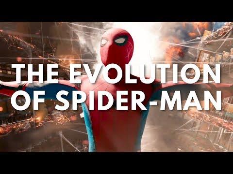 The Evolution of SpiderMan