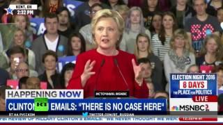 Клинтон упорно твитит о связи Трампа с Путиным в попытке отвлечь внимание от скандала с ее почтой