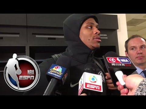 Video: Russell Westbrook sounds off on referee calls from Thunder loss | NBA on ESPN