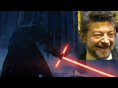 Andy Serkis - Andy Serkis confirms to Absolute Radio that he's the menacing voice you hear in the background of the Star Wars: The Force Awakens Trailer. Subscribe to our ...