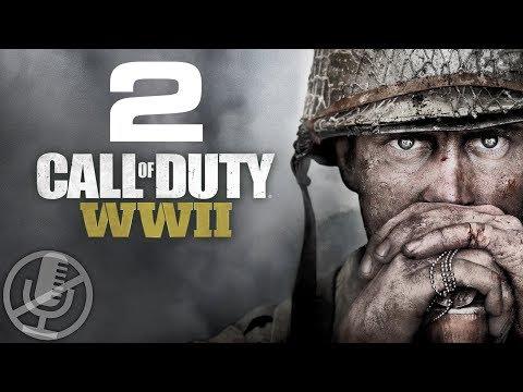 Call of Duty WW2 Прохождение Без Комментариев На Русском На ПК Часть 2 — Операция \