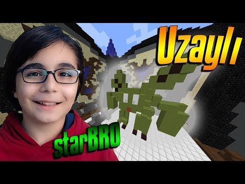 UZAYLI !!! MİNECRAFT BUİLD BATTLE BKT