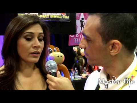 raylene - I got a totally exclusive with the stunning Raylene at Exxxotica NJ 2012. Bonus: Check out Ash Hollywood in the background!