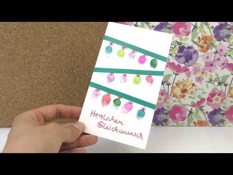 Lustige Geburtstagskarte selber machen / Einladungskarte für euren Kindergeburtstag