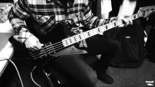 Tobin Esperance of Papa Roach plays through Fear Hate Love