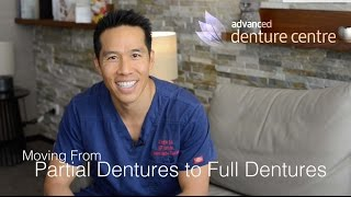 Moving from a Partial Denture to a Full Denture