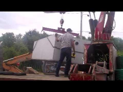 Underground water tank installation