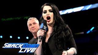 Video Shane McMahon names Paige the new GM of SmackDown: SmackDown LIVE, April 10, 2018 MP3, 3GP, MP4, WEBM, AVI, FLV Juni 2018