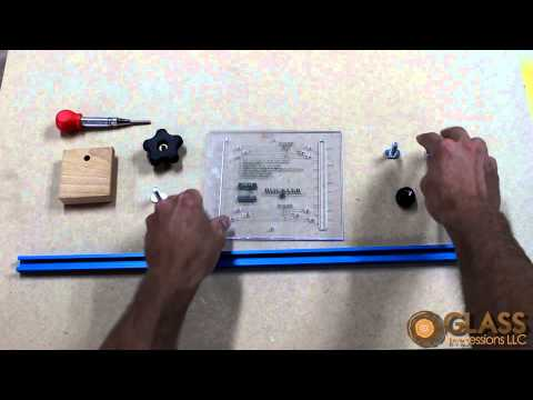 Rockler Deluxe Drawer Pull JIG IT Assembly by Glass Impressions