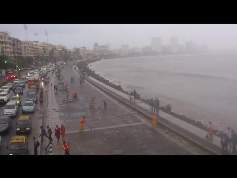 Monsoon View At Marine Drive till Nariman Point