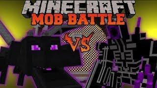 ENDER DRAGON VS ROBO WARRIOR - Minecraft Mob Battles - OreSpawn and Vs Mobs Mods