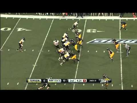 Roosevelt Nix vs Towson 2012 video.