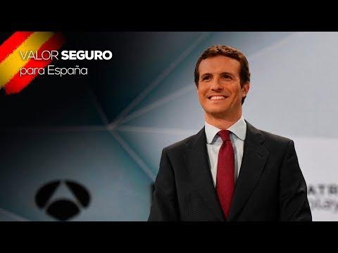 Los mejores momentos de Pablo Casado en el debate ...