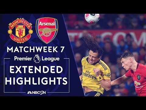 Manchester United v. Arsenal | PREMIER LEAGUE HIGHLIGHTS | 9/30/19 | NBC Sports