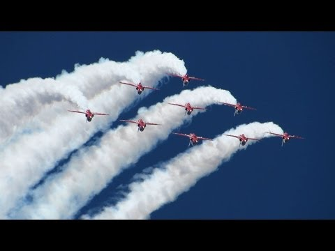 Danish Air Show 2014 Karup - Red Arrows