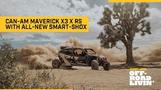 Introducing the 2021 Can-Am Maverick X3 X rs with Smart-Shox semi-active suspension