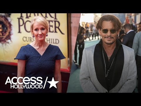 J.K. Rowling Weighs In On Casting Johnny Depp In 'Fantastic Beasts' Sequel   Access Hollywood