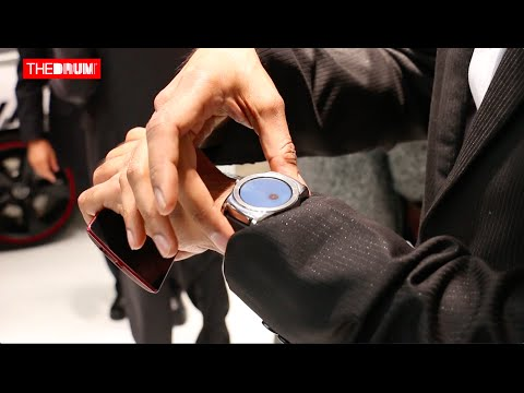 The Best of MWC15 stands: Google's Kiran Mani visits the LG stand video