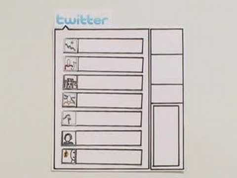 Twitter - http://commoncraft.com A quick and plain English intro the micro-blogging service Twitter. Follow us: http://www.twitter.com/commoncraft This video comes in ...