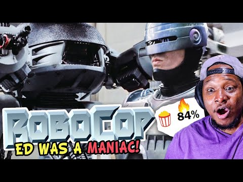 Watching Robocop 1987 - This Movie Is STILL FIRE!!!   Mixed Reactions Movie Commentary