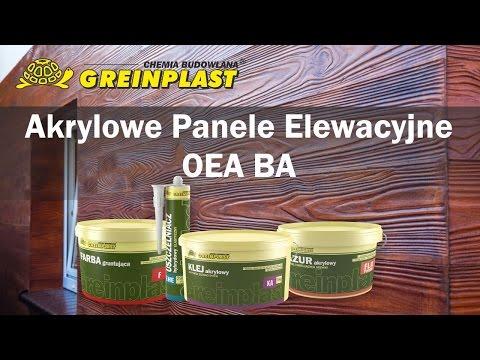 Montaż akrylowych paneli elewacyjnych - Deska Greinplast