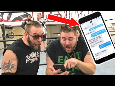 WWE TEXTED ME ABOUT GTS STARS!!! 3 HUGE CHAMPIONSHIP MATCHES GTS WRESTLING SUPERCARD!