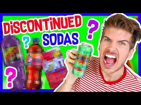 TRYING DISCONTINUED SODAS!