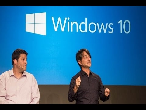 Microsoft launches its new OS Window 10