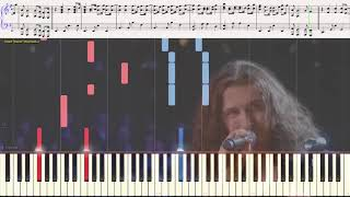 Take me to Church - Hozier (Ноты и Видеоурок для фортепиано) (piano cover)