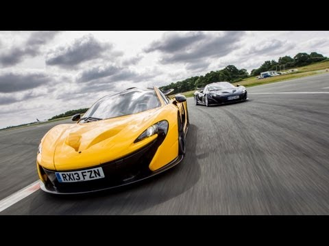 0 Hybrid Hypercar Two Step: Jay Leno Drives the McLaren P1 in England [Video]