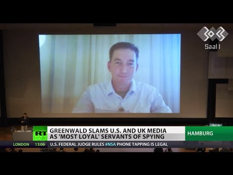 'US, UK media are slaves of security apparatus' - Greenwald