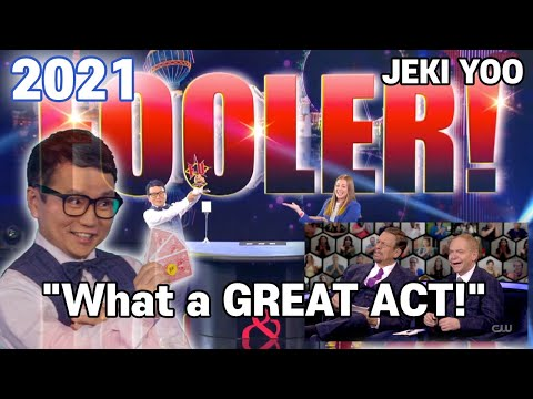Penn and Teller Fooled by a STICKER | JEKI YOO | NEW Season 7 Ep.18