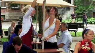 Tricked Umbrella Wets Clients Prank