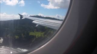 Our flight into Norfolk Island with Air New Zealand 2016.