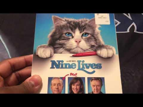 Nine Lives blu ray unboxing