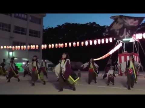 乱痴気 和歌浦小学校夏祭り2015(2日目)ぶんだら&こうらんせ(少し)